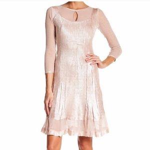 Komarov keyhole blush dress size XS